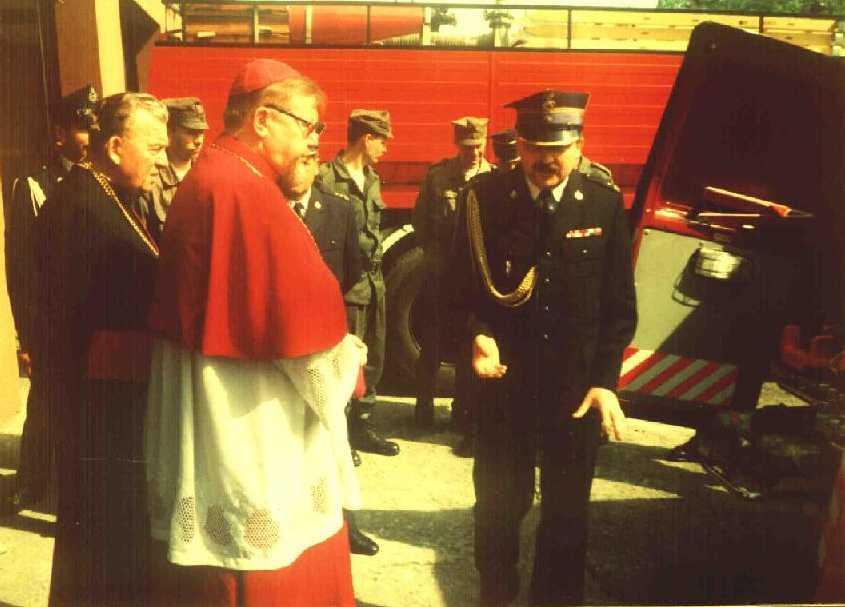 13 maj 1997r. Wizyta Ordynariusza Diecezji Drohiczyńskiej ks. Antoniego Dydycza.